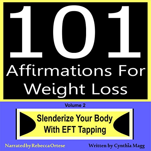 101 Affirmations for Weight Loss, Volume 2 cover art