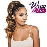 ISIS Human Hair Blend Ponytail Brown Sugar Wrap & Tie BSWNT03 Glamour Wave Wnt 20' (OM1B27)