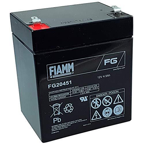Fiamm - Batería plomo AGM FG20451 12V 4.5Ah - Batería(s)