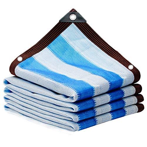 CXF Malla sombreadora Pantalla de Tela Cortina de Sun del Borde de Cinta de Tela con Ojales Sun 90% -95% UV Resistente Malla Sombra Protección Tarp (Size : 3x6m)