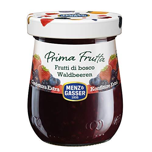 Menz & Gasser Confettura Extra di Frutti di Bosco Prima Frutta - Confettura con Frutta di Alta Qualità, 1 Vaso x 340 g