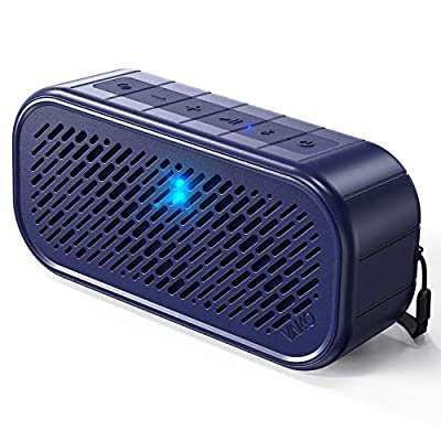 Wireless Bluetooth Speaker, VaKo RockSound Portable Small Speakers IPX5 Waterproof for Shower, Indoor Computer, Outdoor, Travel, Camping, Gifts, Bluetooth 5.0, Tapping & Shaking to Make Sound Effects