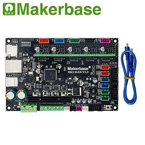 3D Printer Parts Smoothieboard MKS SGen Controller Board Smoothiewaere with MKS TFT32 V4.0 Touch Screen MKS SBASE upgraded (Only MKS SGen)
