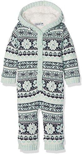 Dirkje Baby-Mädchen 32X-26424H-snowsuit jacquard-62 Schneeanzug, Vert (Mint Green), 3-6 Monate (Herstellergröße: 62)