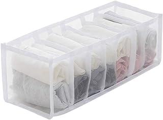 Boîtes de rangement pour tiroirs, penderie, boîte de rangement pliable, séparateurs de sous-vêtements, chaussettes, écharp...