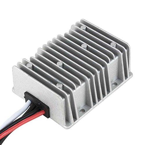 Mastererin Aluminiumgehäuse Power Boost Transformator Spannungswandler Spannungswandler Regler DC 12 V Step-up bis DC 24 V 3 A 5 A 8 A 10 A 12 A