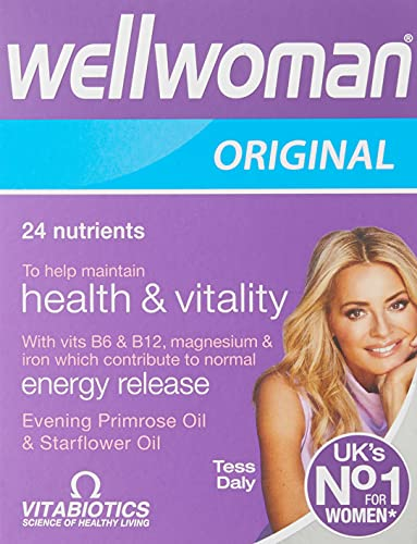 Vitabiotics Wellwoman original 30 kepsar, 59 g