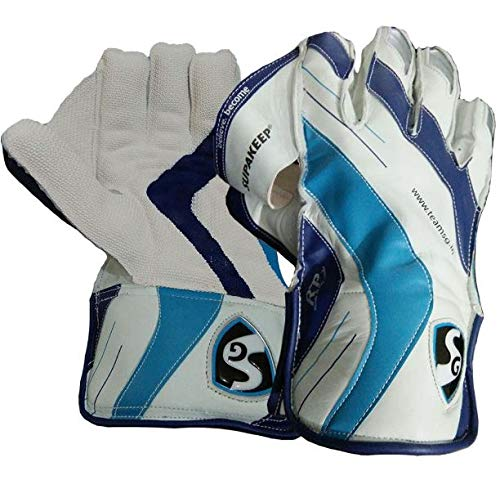 SG Supakeep Wicket Keeping Gloves | Made from The Finest Genuine Leather and has All-Leather Palm Cuffs and Back