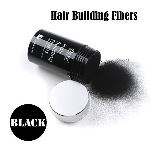Easy to Use Lose Hair : Dexe HAIR BUILDING FIBERS 22G BLACK COLOR