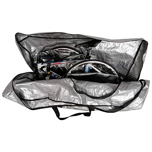 SEHNL Folding Bike Carry Bag Portable Bicycle Transport Storage Bag Case For 26/27.5/29 Inch MTB Mountain Bike Accessories