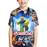 XCNGG Niños Tops Camisetas Kids Novelty 3D Print T-Shirts Boys Girls...