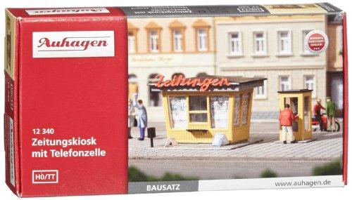 Auhagen 12340 - Zeitungskiosk mit Telefonzelle