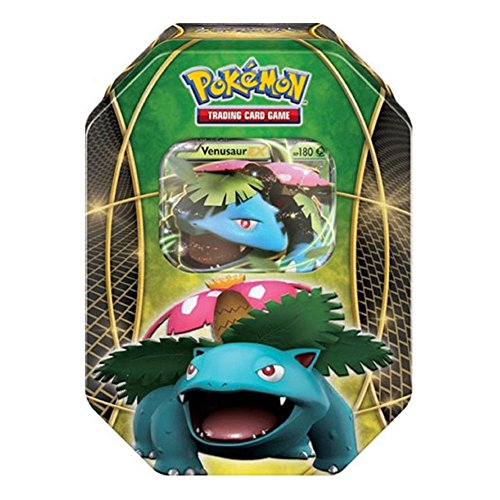 Pokemon Tins 2016 Trading Cards Best of Ex Tins Featuring Venusaur Collector Tin