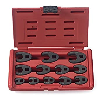 """NEIKO 03323A 3/8"""" and 1/2  Drive Crowfoot Flare Nut Wrench Set 