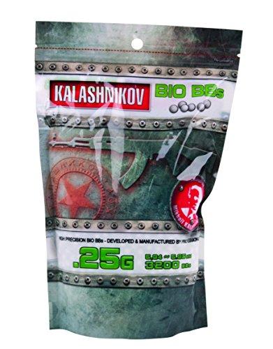 Kalashnikov Softair  BIO  BBS - 3.200  Balines de plástico para airsoft, 5.94 ~ 5.95 mm