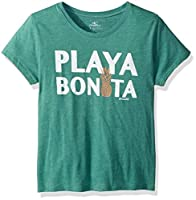 O'NEILL Girls' Big Bonita Screen Print Tee, deep sea, S