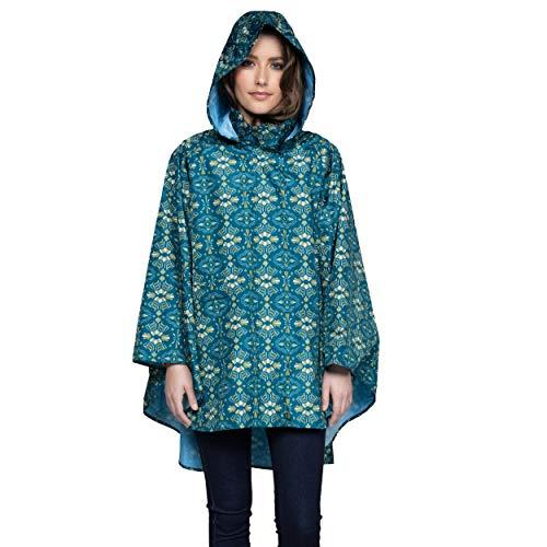 November Rain Waterproof Poncho - Rain Jacket with Hood (Tribe)