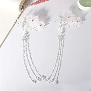 Palace Headdress Chinese Style Hair Clips Costume Hair Accessories Tassel Hairpin Chinese Classical Step Shake Jewelry