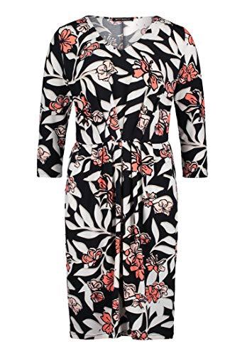 Betty Barclay Damen Fatima Kleid, Mehrfarbig (Dark Blue-Rosé 8847), (Herstellergröße: 44)