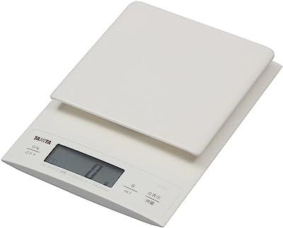 タニタ キッチンスケール はかり 料理 デジタル 3kg 0.1g単位 ホワイト KD-320 WH