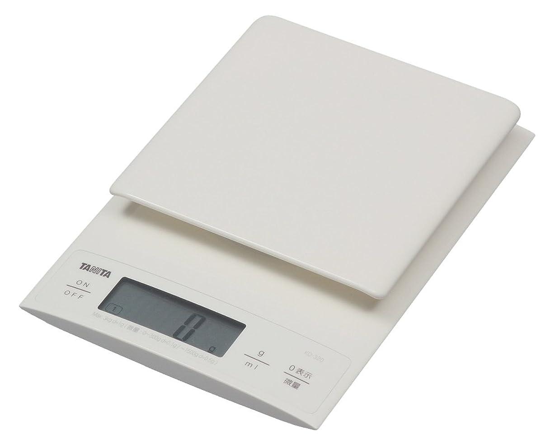 守るリーそれに応じてタニタ はかり スケール 料理 3kg 0.1g デジタル ホワイト KD-320 WH