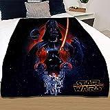 Manta S-Tar Wars S-Tar Wars, manta de ciencia fi-temed de anime, manta de dibujos animados, para decoración de interiores (Star6, 150 x 200 cm)