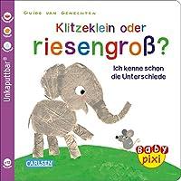 Baby Pixi (unkaputtbar) 52: VE 5 Klitzeklein oder riesengross? (5 Exemplare): Ich kenne schon die Unterschiede