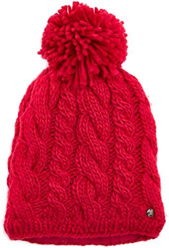 CMP Bonnet tricoté pour Fille One Size Rose - Rouge