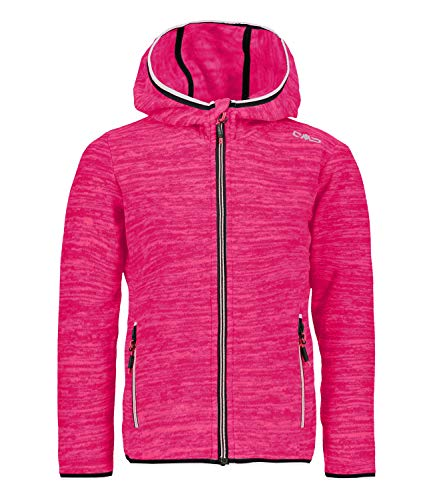CMP Kinder Girls Jaquard Fleece Jacke Fleecejacke Fleecepullover