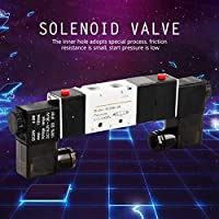 DC 24V Electric Solenoid Valve BSP 14 Normally 3 Position 5 Way Pneumatic Solenoid Valve 0.15-0.8MPa 4V230-08C