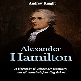 Alexander Hamilton audiobook cover art