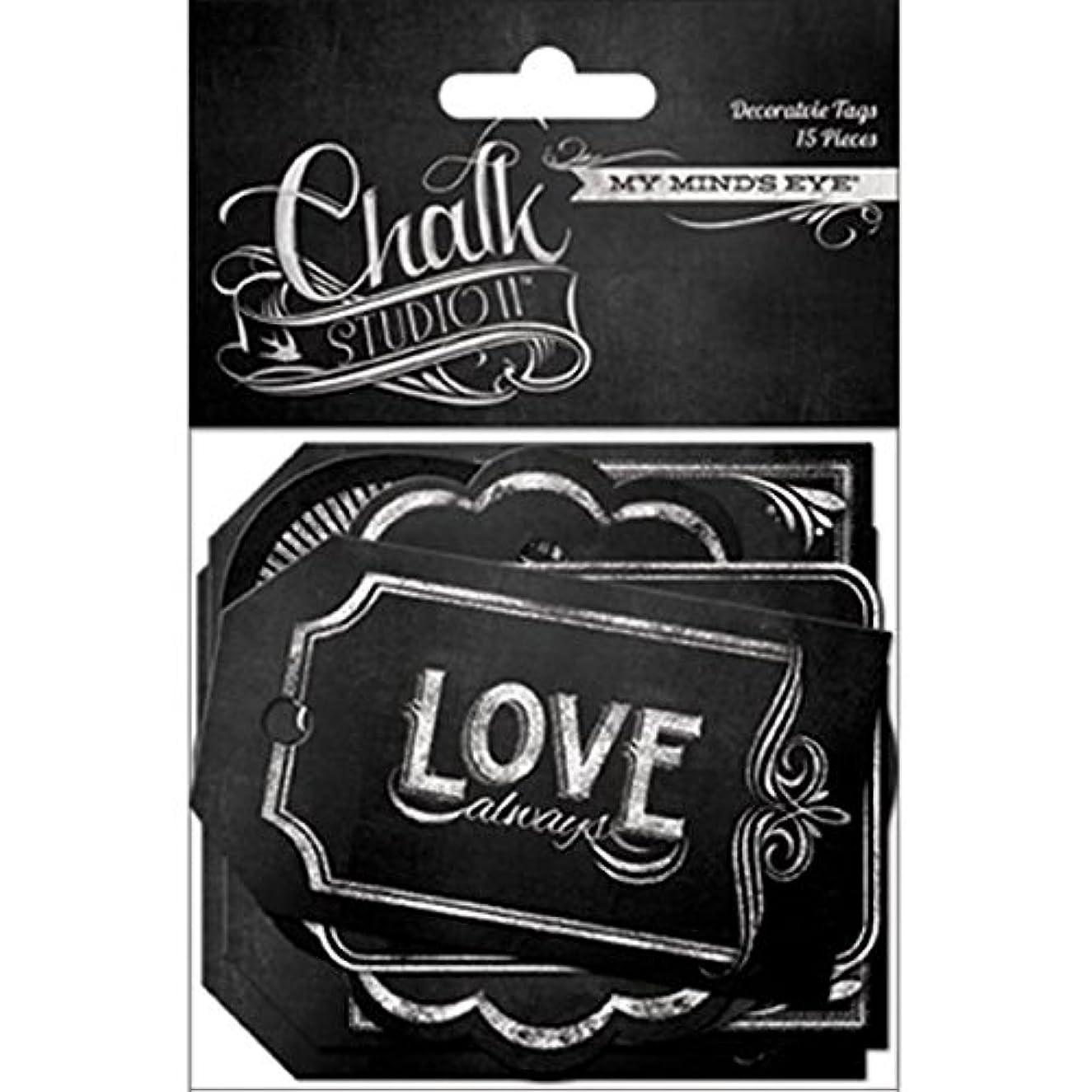 My Mind's Eye Chalk Studio 2 Decorative Tags
