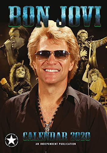 Bon Jovi Kalender 2020 + Bon Jovi Schlüsselanhänger