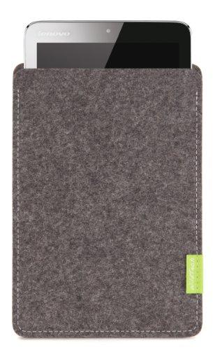 WildTech Sleeve für Lenovo IdeaPad MIIX2-8 - 17 Farben (Handmade in Germany) - Grau