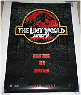 Amazon.com: Jurassic Park el mundo Perdido Póster de la ...