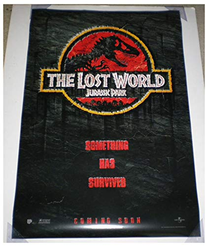 JURASSIC PARK THE LOST WORLD MOVIE POSTER 2 Sided ORIGINAL Advance 27x40 STEVEN SPIELBERG