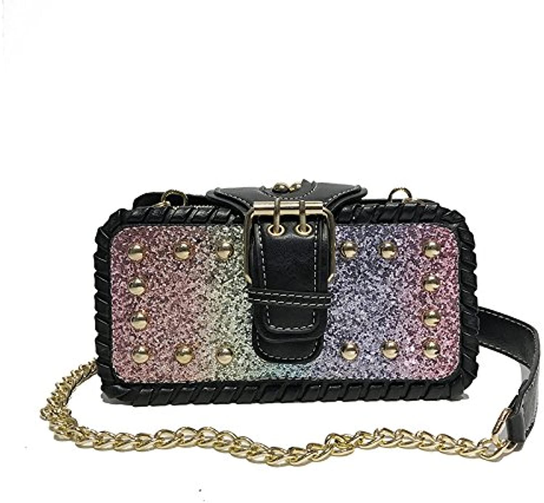 WANGZHAO Shoulder Bag, Shoulder Bag, Leather Bag, Saddle Bag, Women Bag, Trend Mini.