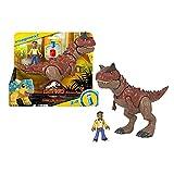 Jurassic World Toro y Darius Dinosaurios de juguete (Mattel HCH99)