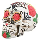 YTC Day of The Dead DOD Tattoo Sugar Skull Head Display Decoration