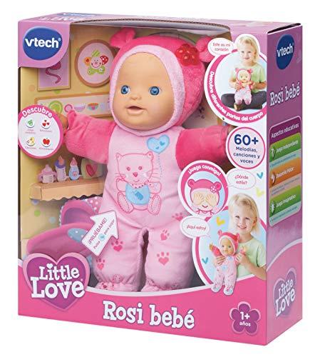 VTech - ROSI, muñeca interactiva, Little Love (3480-169422)
