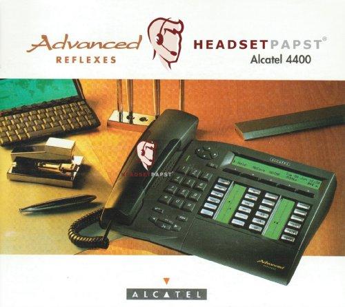 Alcatel 4035 Advanced Reflexes Systemtelefon 3AK27099DG Farbe Graphite Refurbished