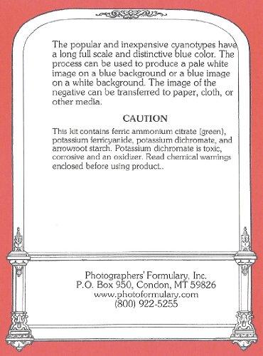 Photographers' Formulary 07-0091 Liquid Cyanotype Printing Kit