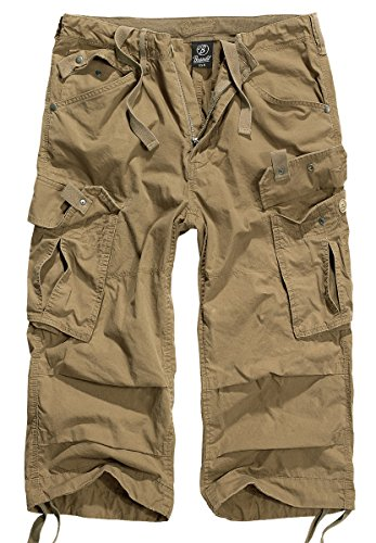 Brandit Columbia Mountain 3/4 Shorts, Gr. XL, Sand