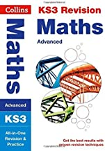 KS3 Maths (Advanced): All-in-One Revision and Practice (Collins KS3 Revision and Practice - New Curriculum) (Collins KS3 Revision and Practice - New 2014 Curriculum) by Collins KS3 (2014-07-01)
