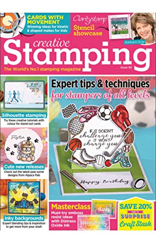 Creative Stamping Magazine : Expert tips & techniques for stampers of all levels (English Edition)
