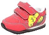 Disney Babyschuhe Lauflerner Sneaker mit Klettverschluss für Jungen Mädchen Winnie The Pooh rot Gr. 20-23 (23)
