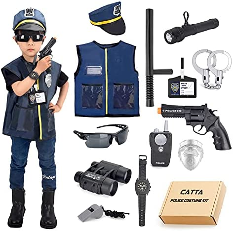 Halloween costume police officer