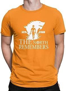Arya Stark Shirt Cotton Multicolored Merch Merchandise Tshirt Clothing Cutout Costume Tee Men