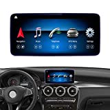 Road Top Android 10 Car Stereo 10.25' Touch Screen for Mercedes Benz C GLC Class W205 C350E, GLC250,GLC300, C63 AMG 2015-2018 Year Car, Support Wireless Carplay Android Auto Split Screen