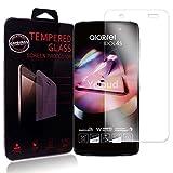 Ycloud Protector de Pantalla para Alcatel Idol 4S (5.5 Pulgada) Cristal Vidrio Templado Premium [9H Dureza][Alta Definicion]